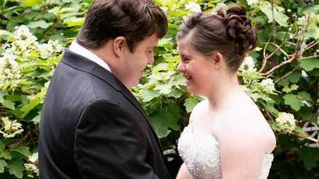 Jillian married her husband Ryan on 27 June 2015 (Paul Daugherty)