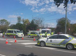 Fatal collision on Redbank Plains Rd