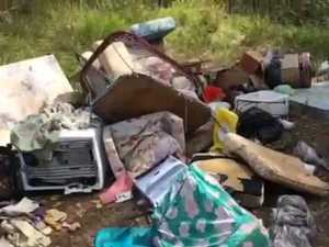 Lagoon Pocket Rd rubbish dumping