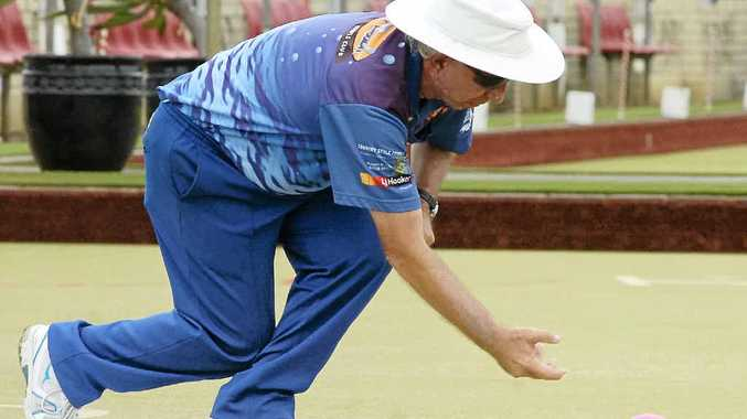 ON A ROLL: Kingscliff bowler Ian Taylor is the top-ranked bowler from northern NSW in the current national rankings.