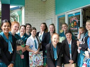 St Ursula's students create toys for toddlers