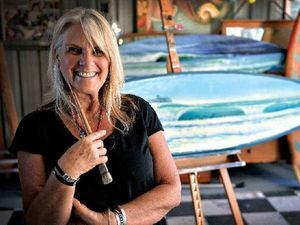Life's a beach for Coast artist and her beloved seascapes
