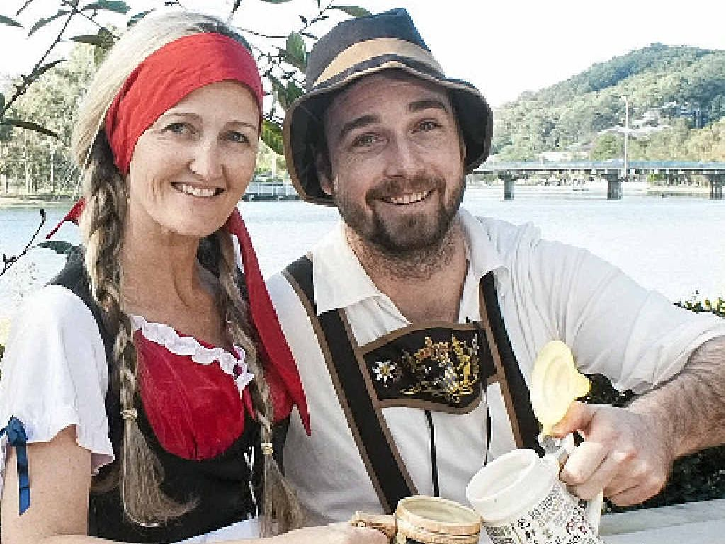 Enjoy a German beer and music to celebrate Oktoberfest.