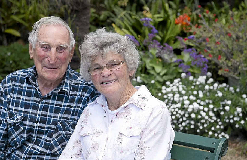 Kevin and Lola Steinmuller are entrants in The Toowoomba Chronicle Garden Competition.