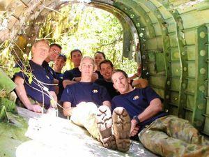 Bushwalkers make the trek as RAAF plane wreck turns 60