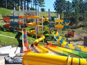 A ride on Big Banana's slides isn't too far away