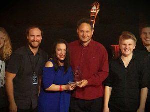 Maclean students Nick and Sam wow at Dolphin Awards