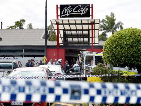 TRAGEDY: Maryborough woman Karina Lock died in a shooting inside a McDonald's restaurant in Helensvale on the Gold Coast.