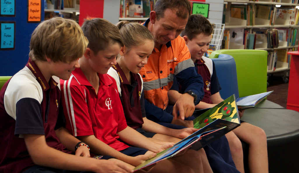 MORE FUNDING: More than 1000 Moranbah students will benefit from a new teacher training program about best practice numeracy lessons, thanks to Arrow Energy funding.