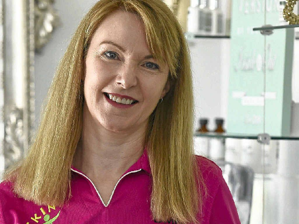 BEAUTY AWARDS: Trish Lethbridge from Skin Sensations. The clinic has won five awards which were presented in Sydney.