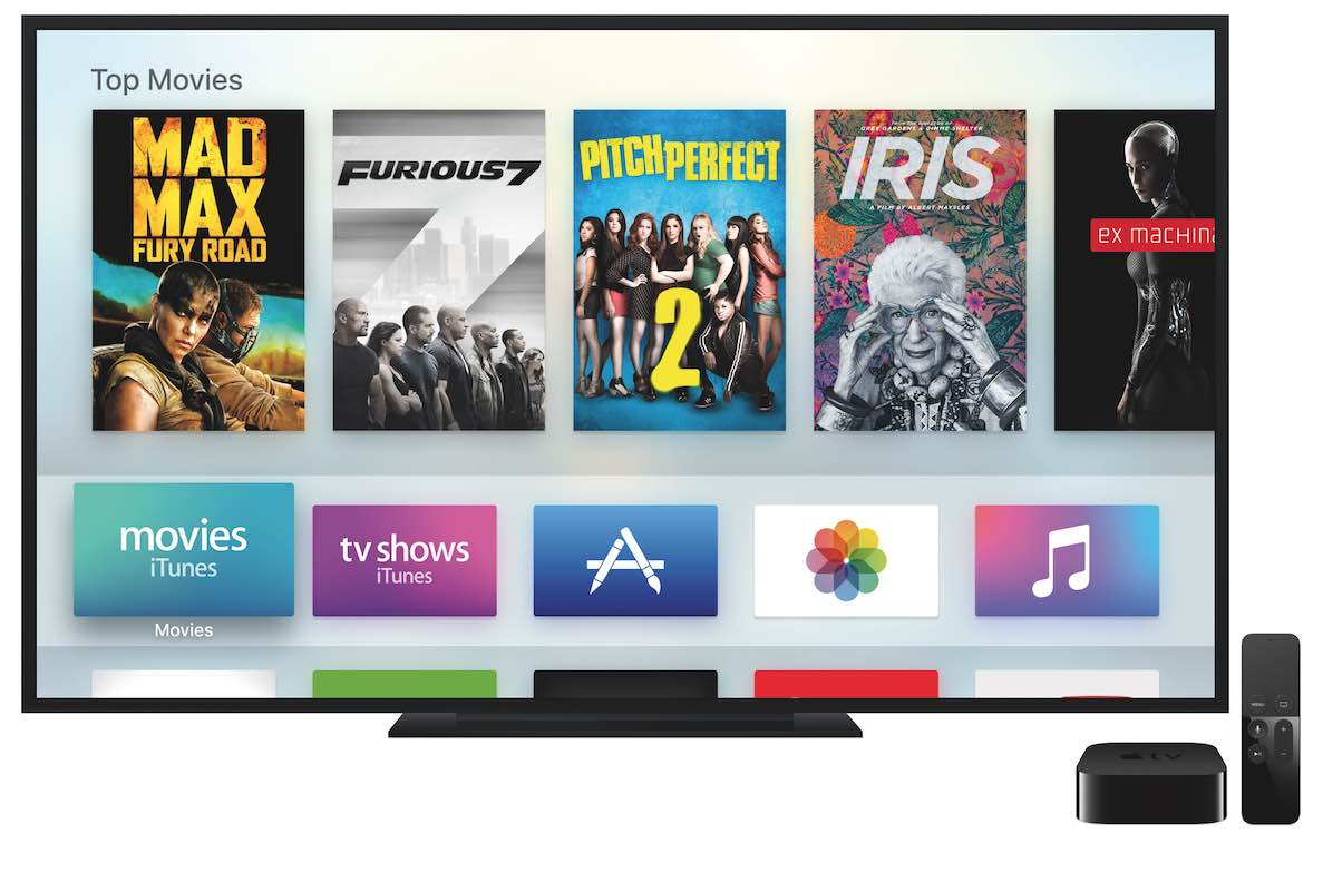 The all-new Apple TV features a Siri remote which can also be used for gaming.