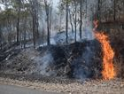 A bush fire is currently burning on Thorogood Rd, Kelsey Creek.