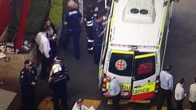 A man and a woman have been shot at a McDonald's store at Helensvale. Photo: Channel 9