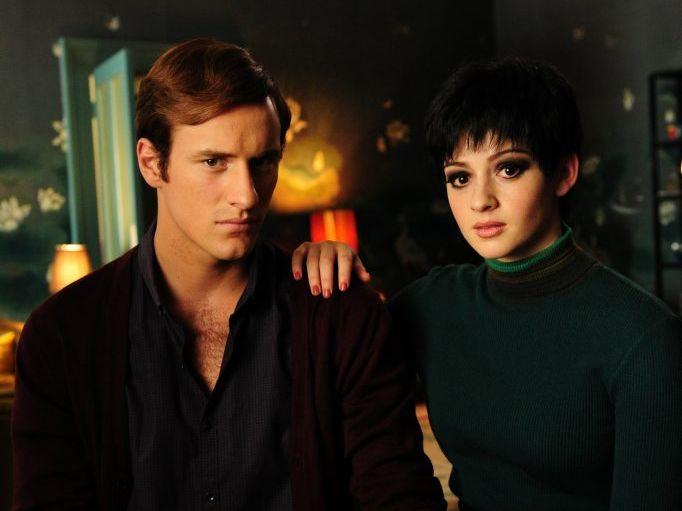 Joel Jackson and Sara West in a scene from Peter Allen: Not The Boy Next Door.