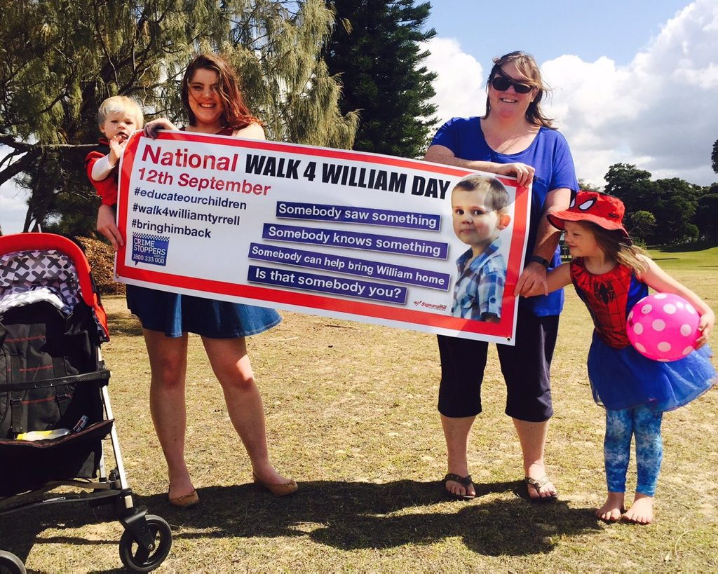 HOPEFUL WALK: Sharon Edman with children Thomas, Maddi and Molly will be part of Coffs Harbour's Walk for William this morning. Photo: Brad Greenshields / Coffs Coast Advocate
