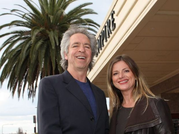 Rockwiz hosts Brian Nankervis and Julia Zemiro dropped into Toowoomba ahead of the Rockwiz national tour. Photo Megan Masters / The Chronicle
