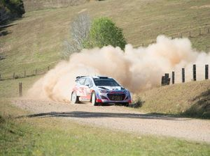 Rally Australia Day 1 in slow motion