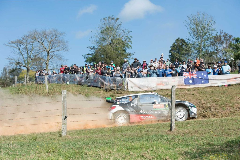 WRC rally day one Bakers Creek stage 11 SEPT 2015 Photo Trevor Veale / Coffs Coast Advocate