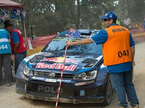 Rally Australia Day 1 action