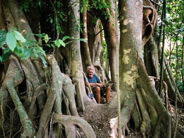 JUNGLE HOME: Michael Fomenko at 80, with everything he needed, as the Sydney Morning Herald saw him in 2011.