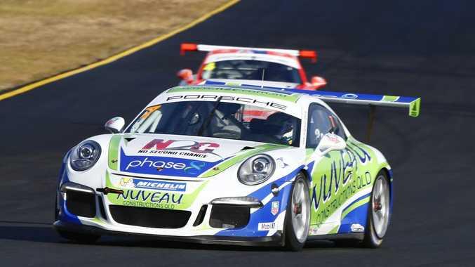 SUCCESS: Matt Campbell in Porsche Carrera Cup action this season. Photo Darin Mandy/Digital Realism