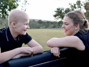 Special night for siblings after cancer diagnosis