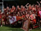 CHAMPIONS: Eastern Swans are this year's Allied Pickfords Cup premiers.