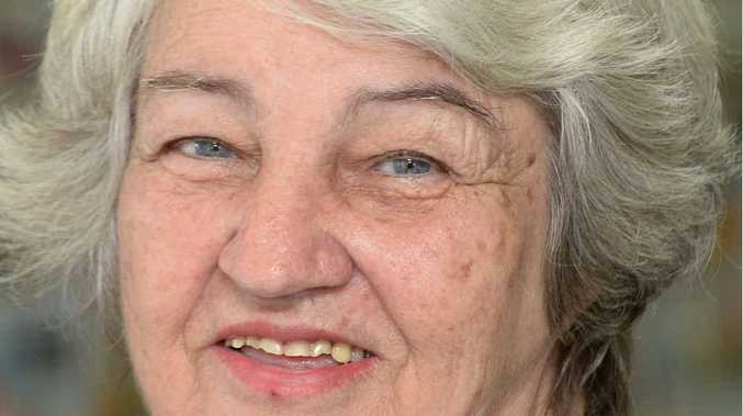 ANTI-COAL: Bev Fehlhaber speaks out against the coal industry.