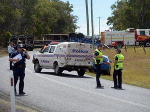 Police investigate fatal truck crash at Moorland
