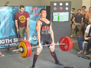 Powerlifter soars to number one ranking