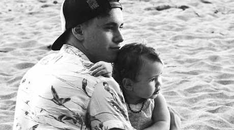 ABOVE:Joseph Bonanno with his young niece Aislinn Ruff. Photo Contributed