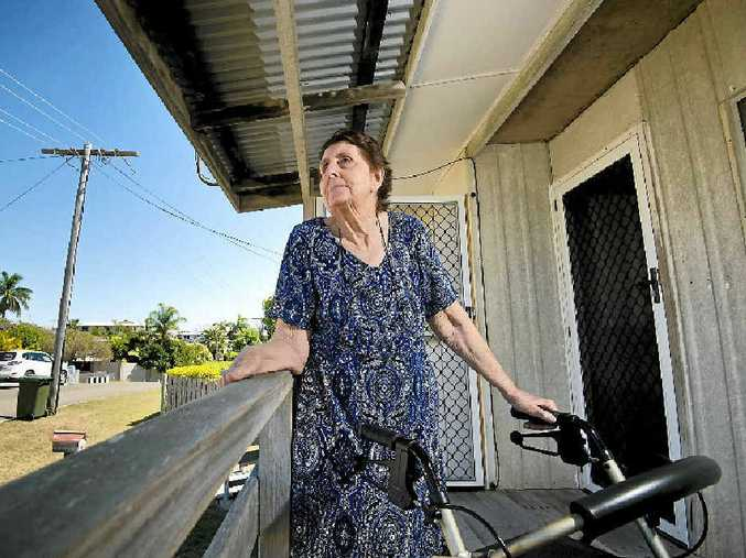 NEW START: Thelma Thwaite has lived in a beach house on Scallop St, built by her husband, for half a century.