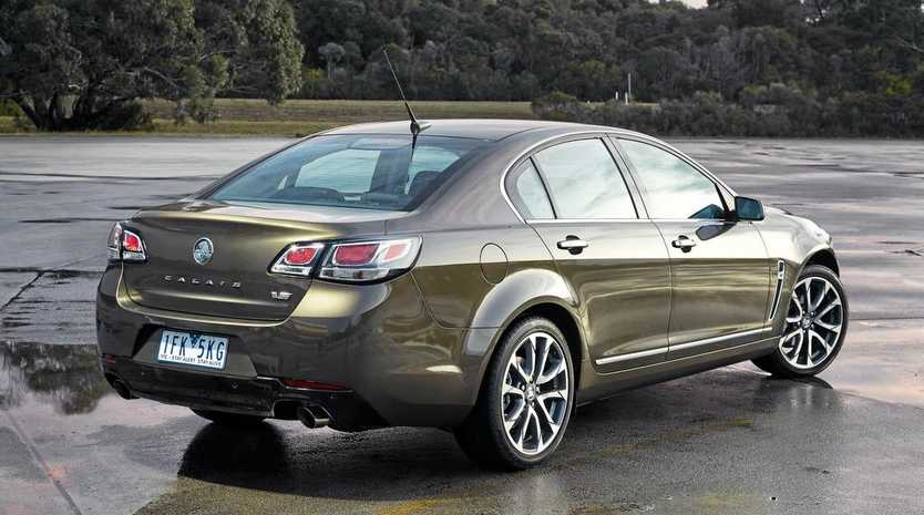 The Holden Commodore VFII.