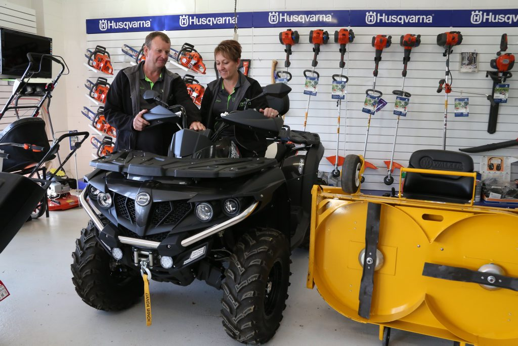BOOMING BUSINESSES: Jacquie and Brett Irwin put part of their success down to diversification. Photo Tessa Mapstone / South Burnett Times