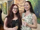 Tosari Galleries' Rosie O'Sullivan (left) with Deborah Arnell