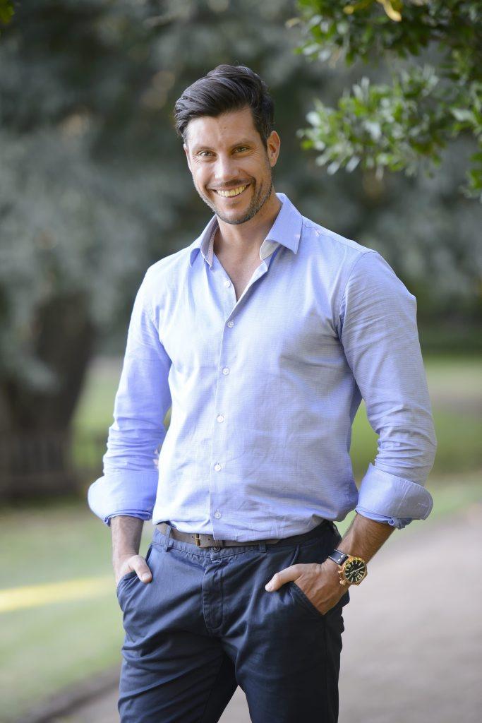 The Bachelor Sam Wood.