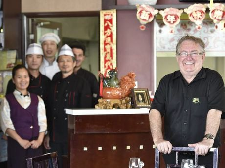 Qi'Lin co-owner Daryll Scott is excited that the restaurant has won another award.