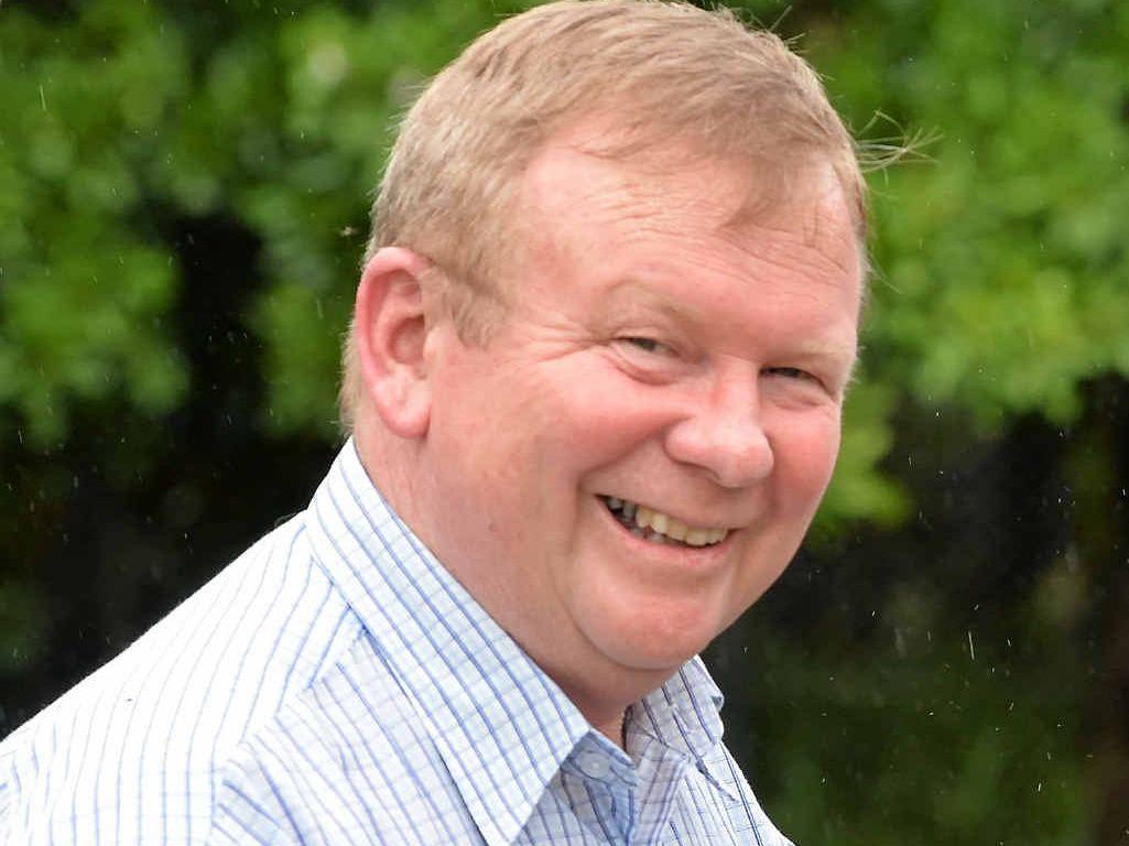 Councillor Frank Gilbert.