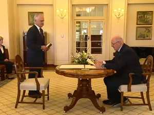Malcolm Turnbull sworn in as PM
