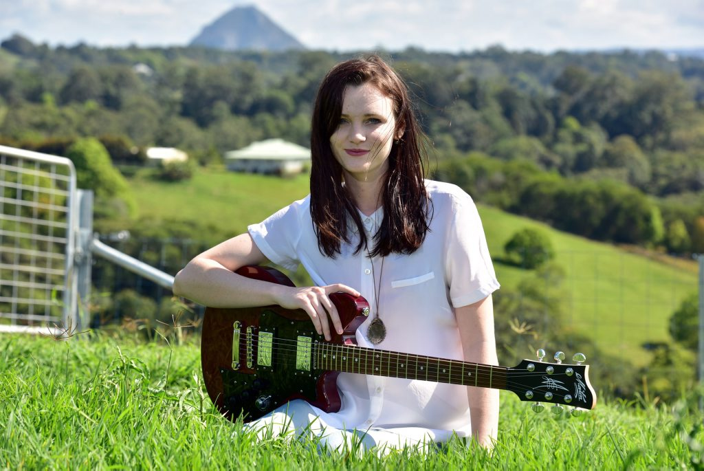RIGHT NOTE: Rising star Ayla is supporting the Coast's music scene.
