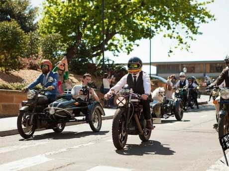 The inaugural Distinguished Gentleman's Ride comes to Toowoomba. Photo Contributed