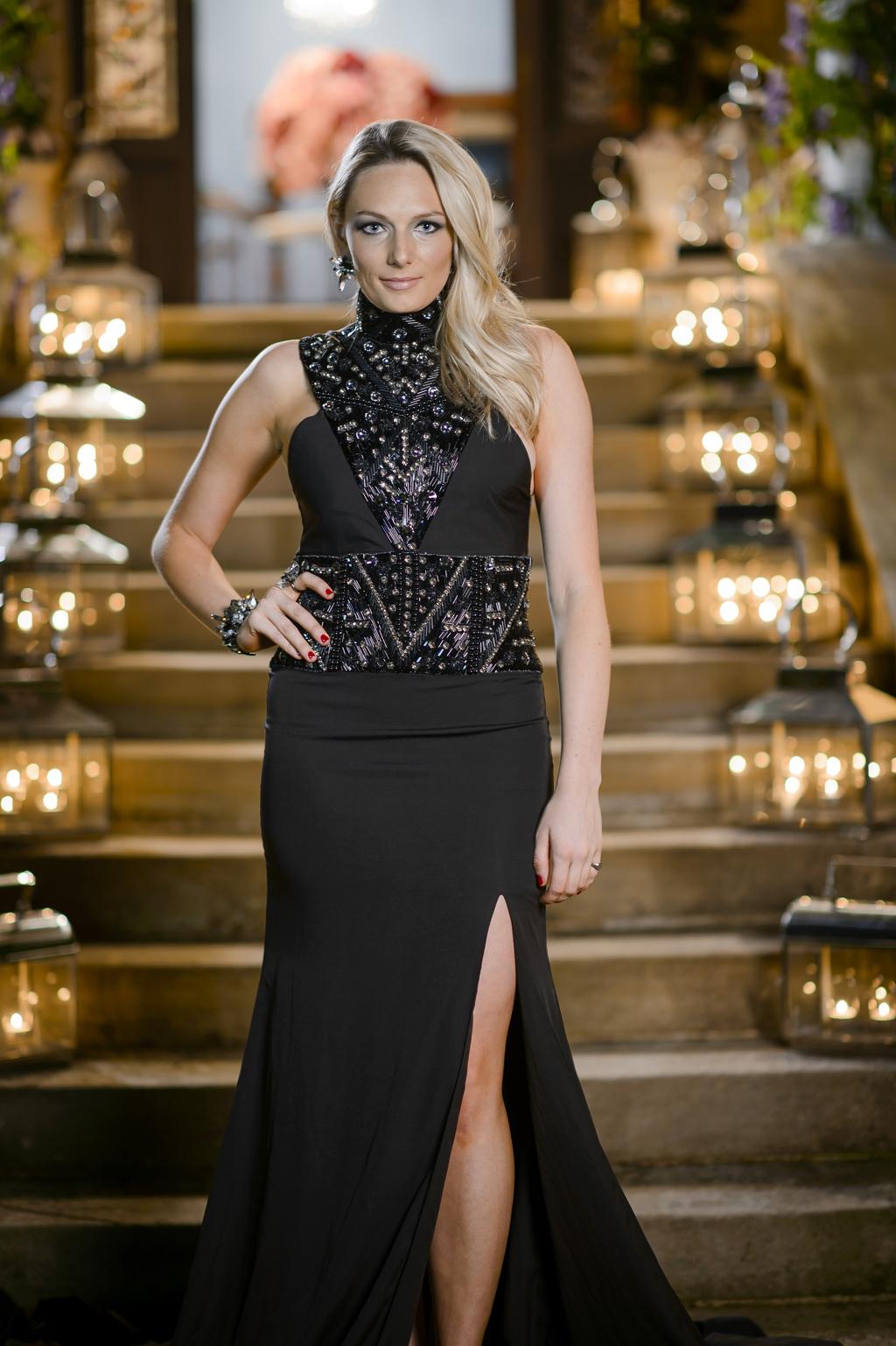 The Bachelor contestant Sarah Mackay.