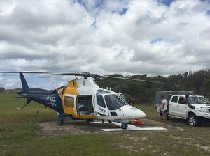 Ranger injured in tractor roll over on Fraser Island
