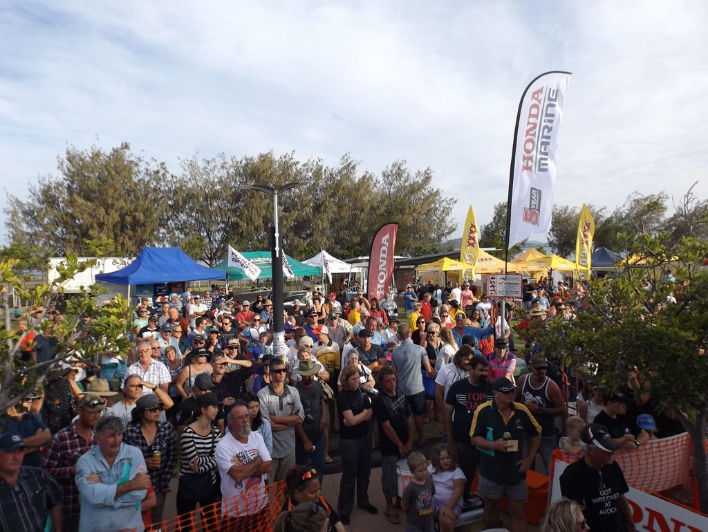 HOOKED: The Bowen Family Fishing Classic enjoyed huge crowds over the weekend. Photo contributed.