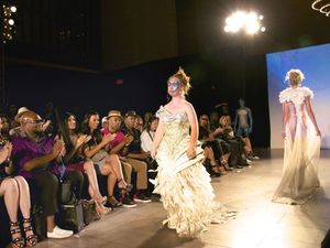 Our Maddy struts her stuff on New York catwalk
