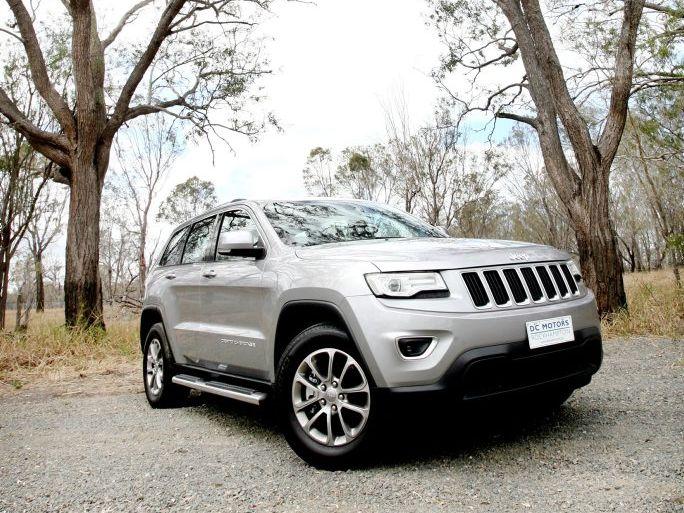 All new Jeep Grand Cherokee Laredo, exclusive to DC Motors. Photo Tamara MacKenzie / The Morning Bulletin