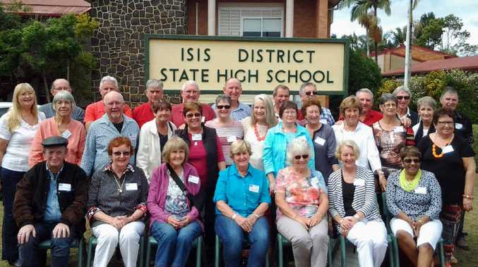 CLASS OF 1965: The reunion at the Isis District State High School.