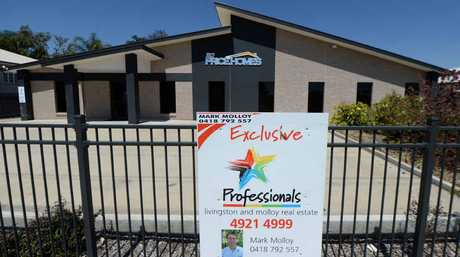 TOUGH TIMES: One of the region's largest home builders has closed his business and put the office up for sale.