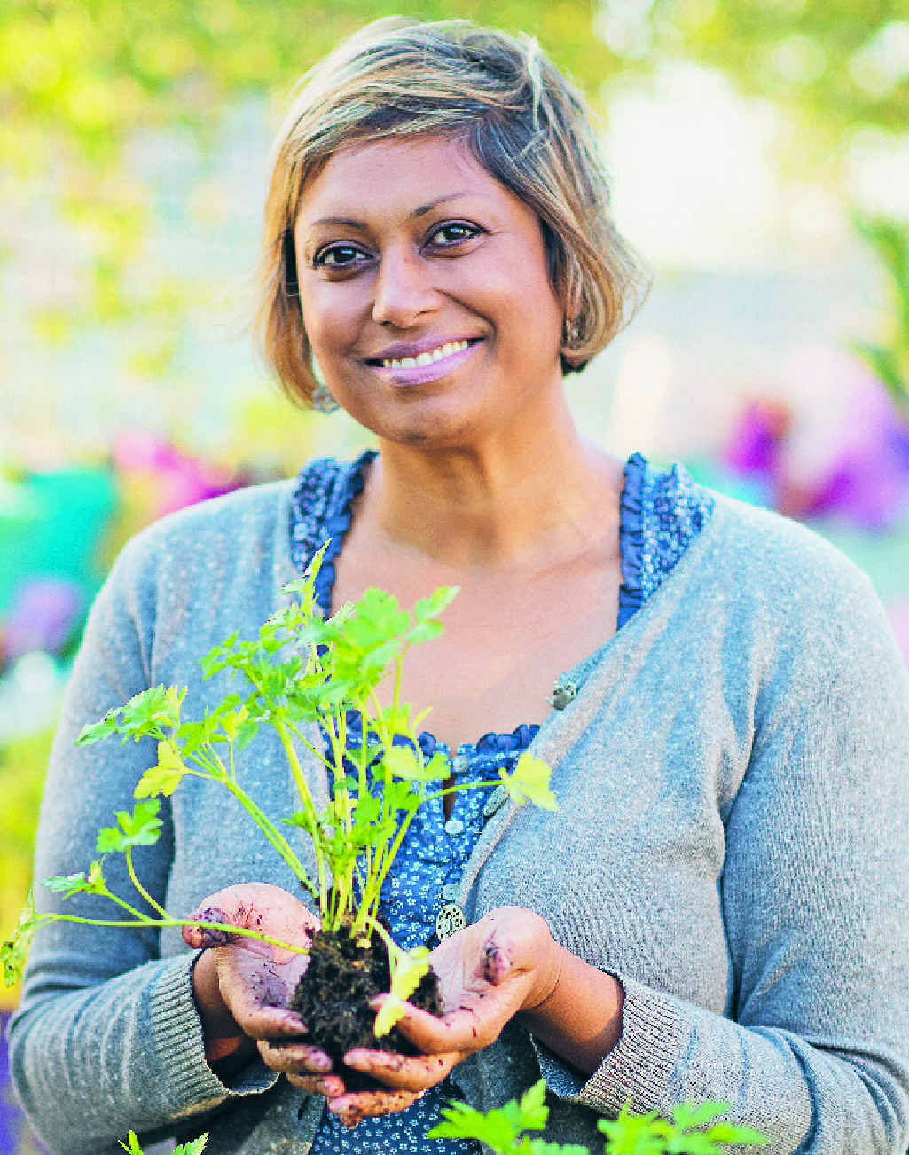Indira Naidoo is the author of The Edible City, rrp$45,published by Lantern.
