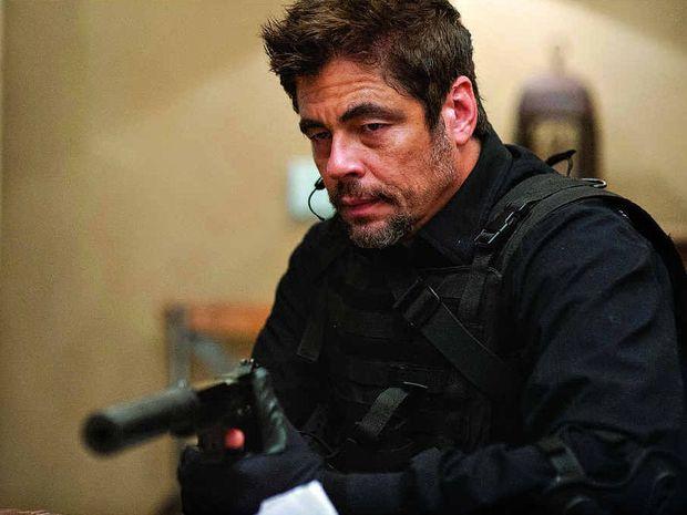 Image result for Sicario Benicio Del Toro